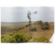 Coastal Farmland Poster
