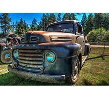 Rust Is Winning Photographic Print