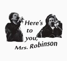 Simon & Garfunkel-Mrs. Robinson One Piece - Short Sleeve
