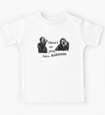 Simon & Garfunkel-Mrs. Robinson Kids Tee