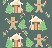 Gingerbread man & gingerbread house #4 by simplepaperplan