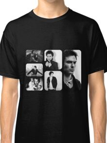 Ian Somerhalder in Black and White Classic T-Shirt