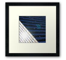 Urban Architectural Abstract Framed Print