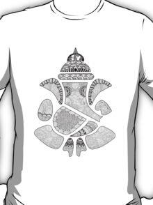 Ganesha Doodle Art | Doodle Lord Ganesha | Handmade doodle T-Shirt