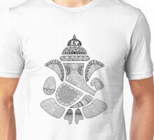 Ganesha Doodle Art   Doodle Lord Ganesha   Handmade doodle Unisex T-Shirt