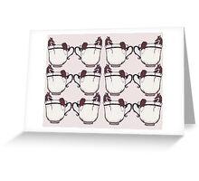 Fox in a Teacup Greeting Card