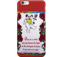 Once in a While iPhone Case/Skin
