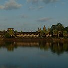 The Moon over Angkok Wat by Brian Bo Mei