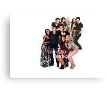 TVD Cast Canvas Print