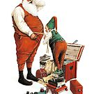 Santa and his Tailor by JBMonge