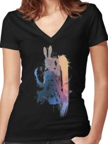 Final Fantasy Fran Women's Fitted V-Neck T-Shirt
