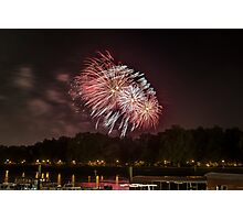 battersea, guy fawkes day 2012 Photographic Print
