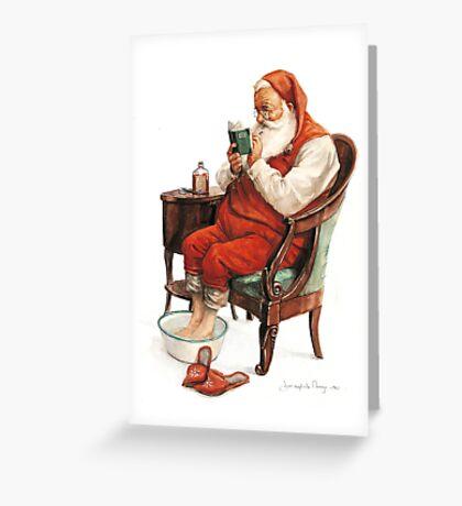 Good and Bad List Greeting Card
