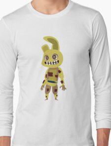 Five Nights at Freddy's - Springtrap Cute Cartoon Chibi Long Sleeve T-Shirt