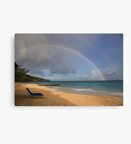 Grenada Rainbow Canvas Print