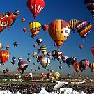 Balloon Fiesta Wide Screen by Paul Albert