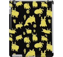 Weebeasts (yellow) iPad Case/Skin