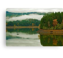 Autumn At Foster Canvas Print