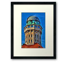 Urania Sternwarte Framed Print