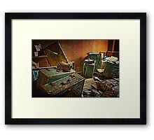 Survival Kits Framed Print