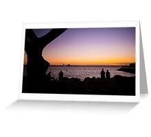 Sun Down San Diego Greeting Card