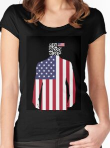 Tracking America Women's Fitted Scoop T-Shirt