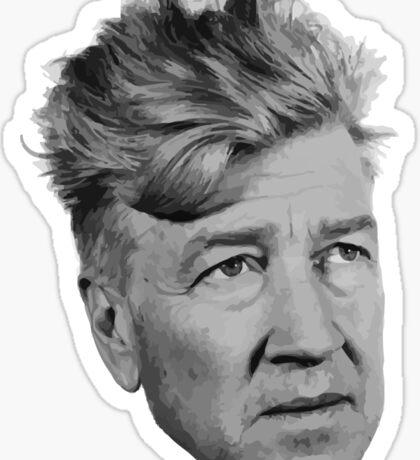 David Lynch Sticker