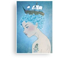 Sailor's Daughter Canvas Print
