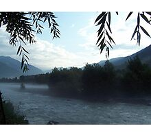 Manali River Beas Scenery India Photographic Print