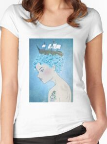 Sailor's Daughter Women's Fitted Scoop T-Shirt