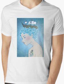 Sailor's Daughter Mens V-Neck T-Shirt