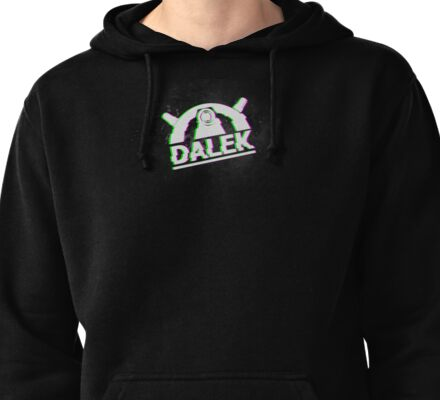 Doctor Who | Dalek | Glitched Pullover Hoodie