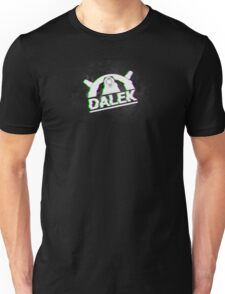Doctor Who | Dalek | Glitched Unisex T-Shirt