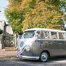 Wedding Camper Van - Colour by Phil Parkin