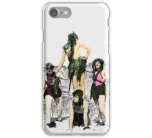 Mermaids in the 1930s iPhone Case/Skin
