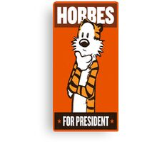 Hobbes Canvas Print