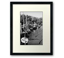 Skipool,Creek (7) Framed Print