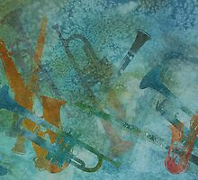 Jazz Improvisation One by PaintboxCollage