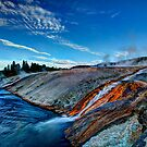 Into the Firehole River by Dale Lockwood