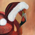 Christmas Flamingo by James Kruse