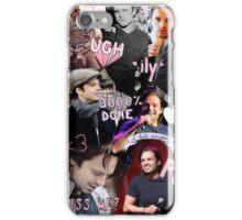 sebastian stan collage iPhone Case/Skin