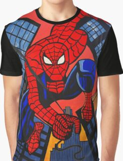 SUPER HEROS   SPIDERMAN Graphic T-Shirt