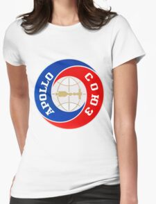 Apollo–Soyuz Mission Logo Womens Fitted T-Shirt