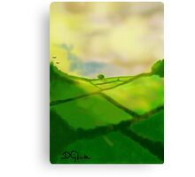 Green Pastures Canvas Print