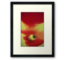 Red Eye Framed Print