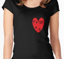 Pet Love Women's Fitted Scoop T-Shirt