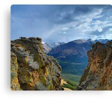 Storm Mountain View Canvas Print