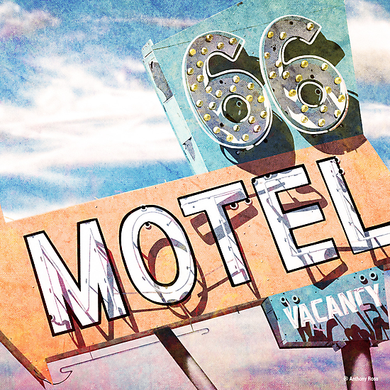 66 Motel by Anthony Ross