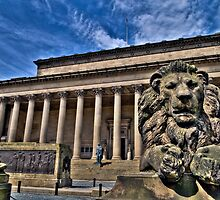 128 St George's Hall, Liverpool by George Standen