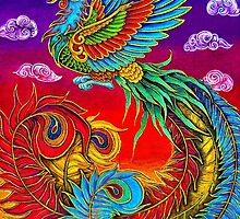 Fenghuang Chinese Phoenix by Rebecca Wang